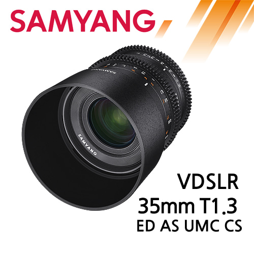 SAMYANG VDSLR 35mm T1.3 ED AS UMC CS