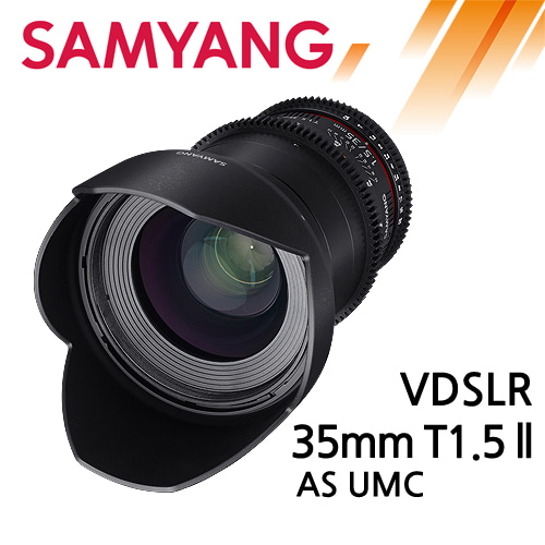 SAMYANG VDSLR 35mm T1.5 ll AS UMC