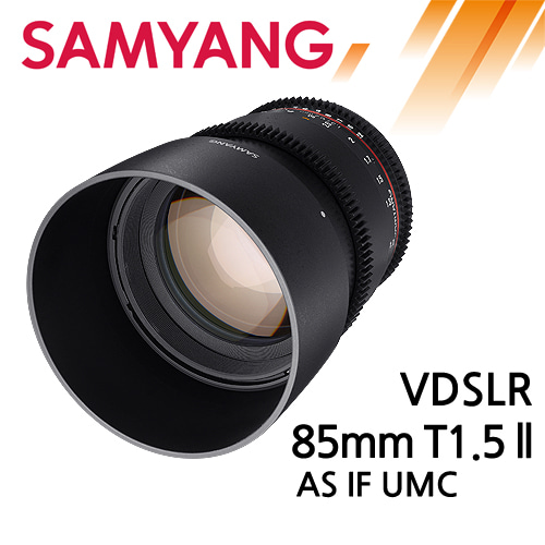 SAMYANG VDSLR 85mm T1.5 ll AS IF UMC