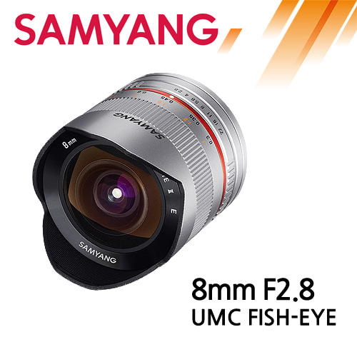 SAMYANG 8mm F2.8 UMC Fish-Eye
