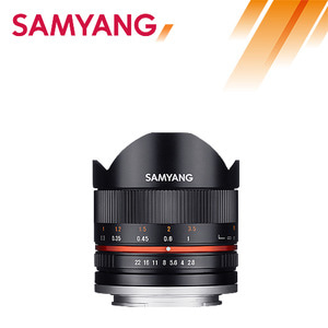 SAMYANG 8mm F2.8 UMC Fish-Eye ll